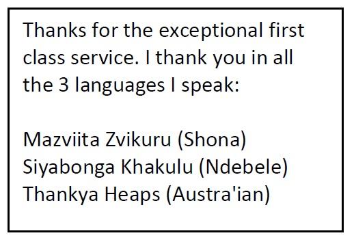 3 languages