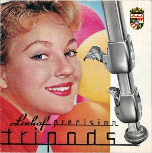 Linhof Tri pods Front cover