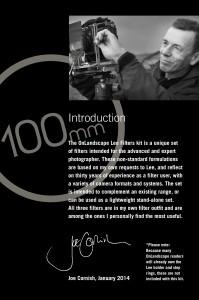 On Landscape 100 Intro
