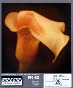BERPN62 bergger inkjet fine art paper linhofstudio