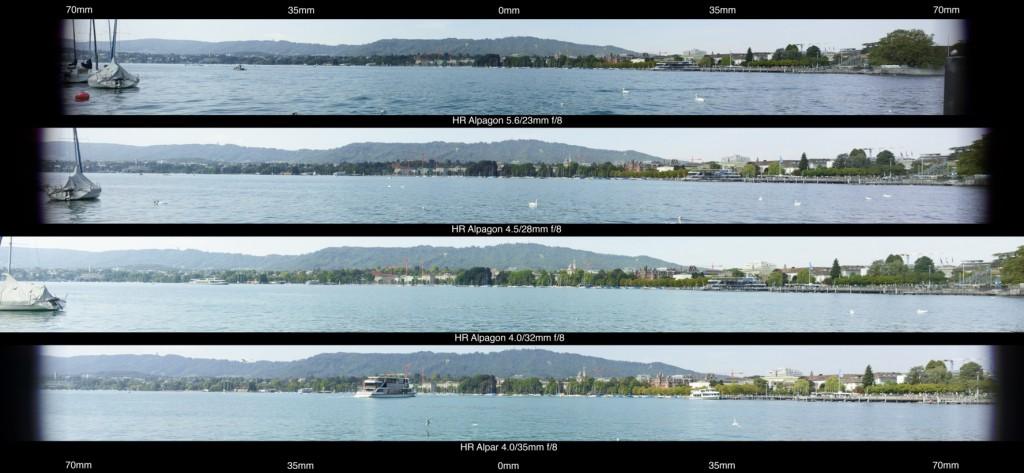 Linhof Studio Rodenstock Lens Comparison Alpa