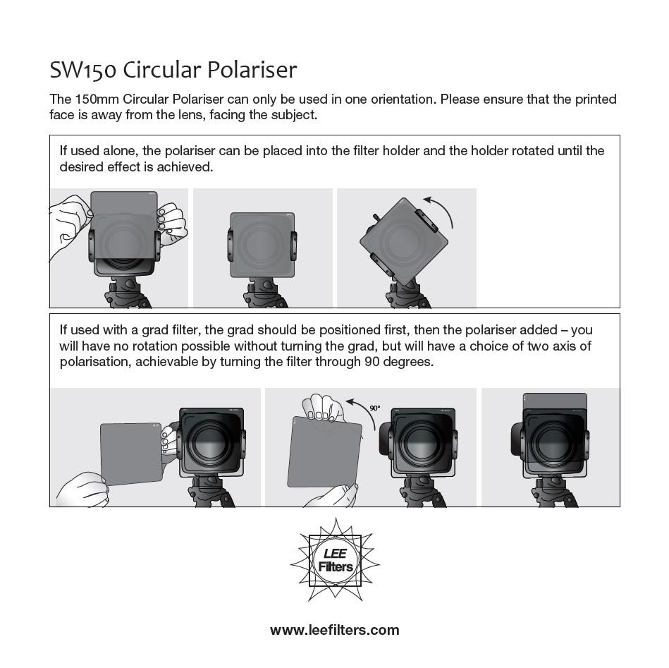 LEE Filters | SW150 Circular Polariser | linhofstudio