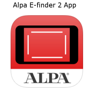 alpa efinder 2 app largeformat iphone android linhof studio