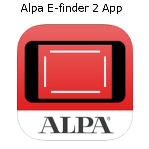 alpa efinder 2 app largeformat iphone android linhof studio
