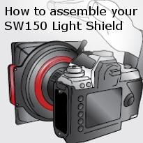 assemble your sw150 lightshield