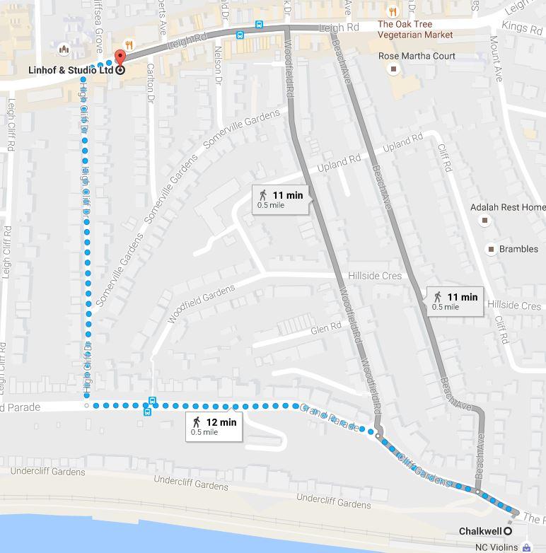 walking-direction-map