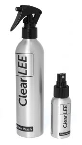ClearLEE Filter Wash 300ml & 50ml Bottles-1600x1600