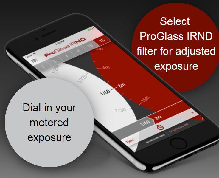 LEE Filters IRND ProGlass Exposure Guide App