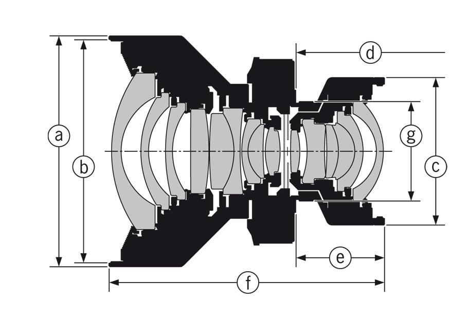 Rodenstock HR Digaron-S Lenses drawing