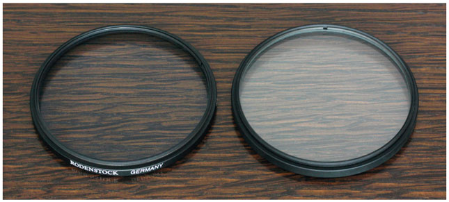 Rodenstock Filters overview coating