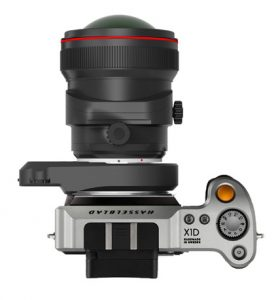 Hasselblad X1d with Canon Lens and Cambo Adapter