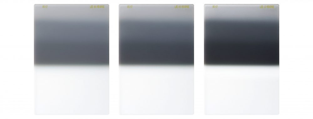 Lee Filters Reverse ND Filters Group Shot - 100mm System linhof studio