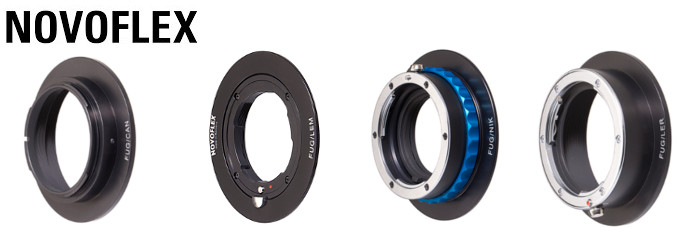 Novoflex Fuji G Mount body Adapters